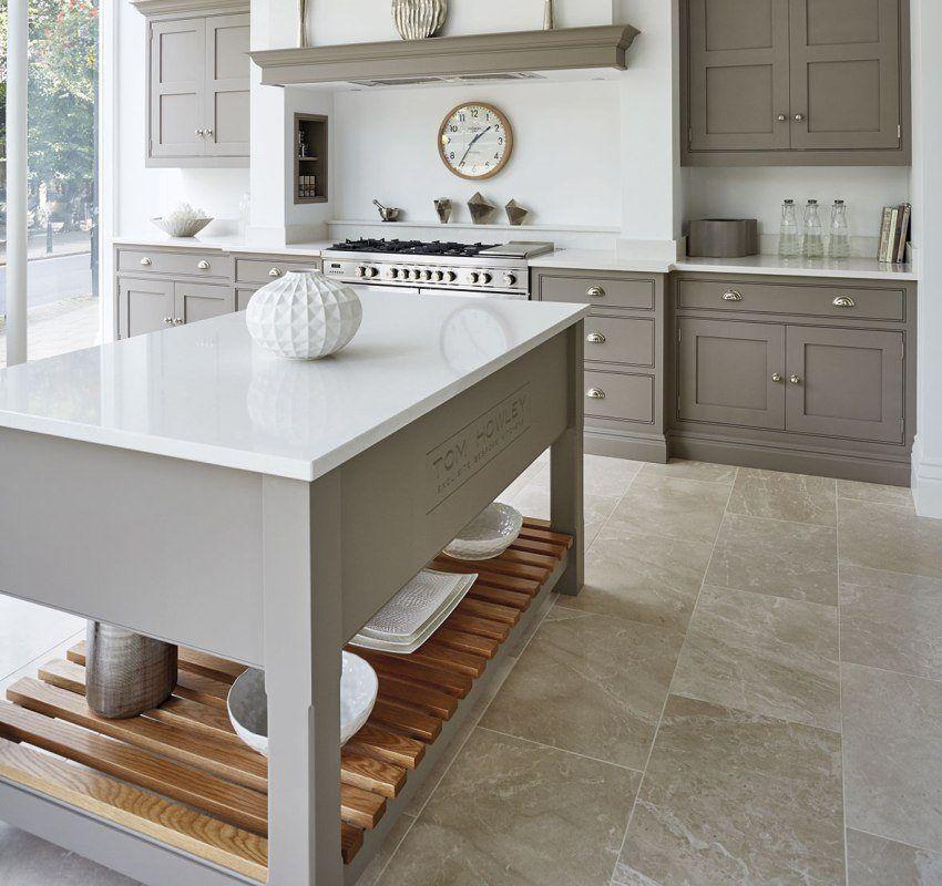 Jubin Lantai Untuk Dapur Foto Dan