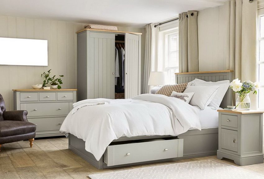 Set Bilik Tidur Foto Perabot Yang