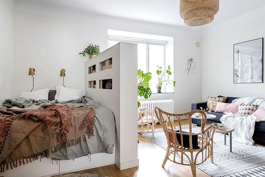 Pengezonan bilik untuk bilik tidur dan ruang tamu: reka ...